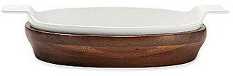 Michael Graves Design Au Gratin Dish with Wood Trivet