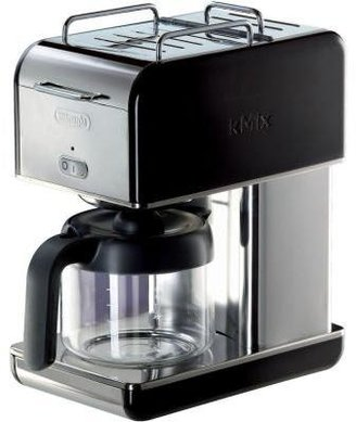 De'Longhi DeLonghi kMix 10-Cup Coffee Maker in Black