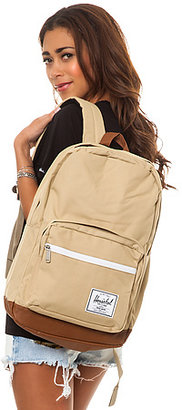 Herschel Supply The Pop Quiz Backpack in Khaki