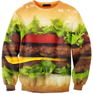 Mr. Gugu & Miss Go Hamburger Sweatshirt Unisex