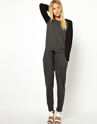 Asos Exclusive Baseball Jumpsuit