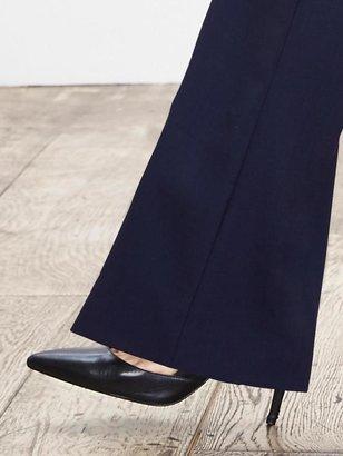 Banana Republic Martin-Fit Navy Lightweight Wool Trouser