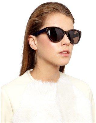 Cat Eye Cutler and Gross Chocolate Star Sunglasses