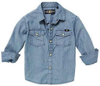 Lucky Brand Malibu Chambray Shirt