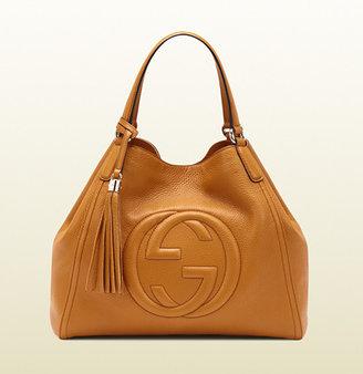 Gucci Soho Light Sunflower Leather Shoulder Bag