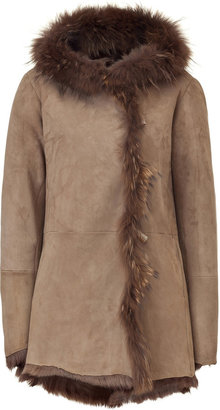 Nigel Preston Musk Lambskin Short Coat