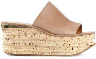 Chloé platform sandal