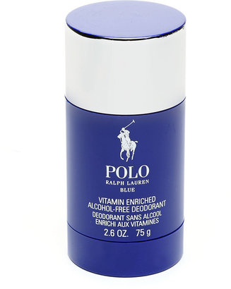 Polo Ralph Lauren Blue For Men Alcohol-Free Deodorant, Vitamin Enriched 2.6 fl oz (75 ml)