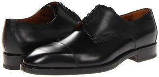 a. testoni a. tetoni Lux Calf Double Sole Oxford Men' Lace Up Cap Toe Shoe