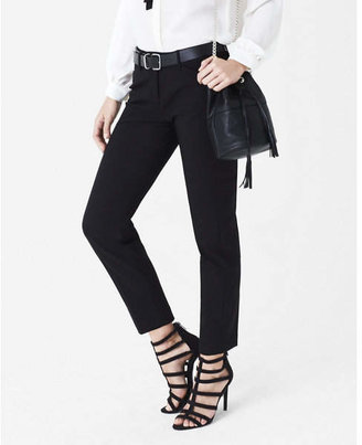 Express low rise editor ankle pant $69.90 thestylecure.com