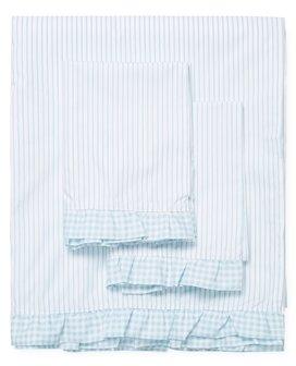 Striped Cotton Percale Sheet Set