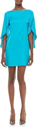 Milly Butterfly-Sleeve Shift Dress