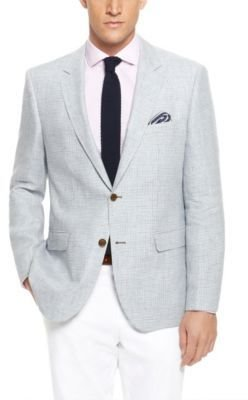HUGO BOSS 'The Smith' - Regular Fit, Linen Houndstooth Sport Coat
