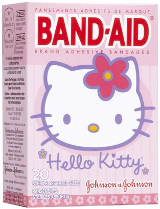 Safety First Band-Aid Bandages - Hello Kitty - 20 ct