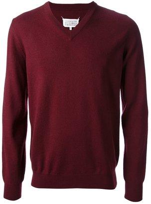 Maison Martin Margiela v-neck sweater