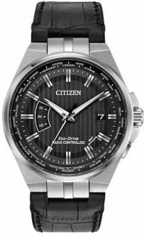 Citizen Mens Atomic Timekeeping World Perpetual A-T CB0160-00E Watch
