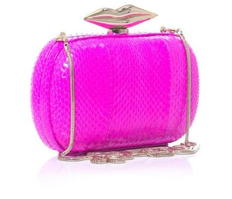 Diane von Furstenberg Flirty Minaudiere box clutch