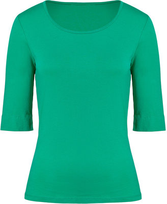 Closed Green Spruce Elbow Sleeve T-Shirt