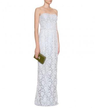 Dolce & Gabbana LACE-OVERLAID DRESS
