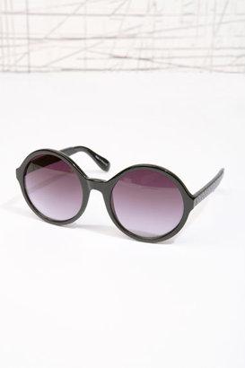 Snake Arm Round Sunglasses