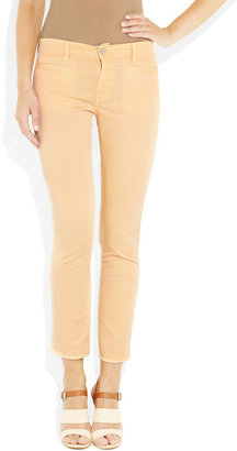 MiH Jeans Paris mid-rise straight-leg cropped jeans