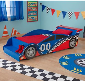 Kid Kraft Toddler Racecar Bed