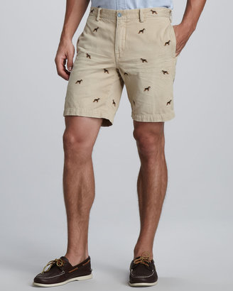 Polo Ralph Lauren Beagle-Embroidered Shorts
