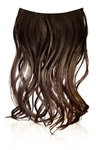 Ken Paves 16 Inch Ombre Extension - Chocolate
