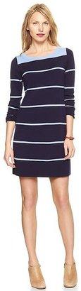 Gap Colorblock striped dress