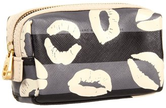 Marc by Marc Jacobs Eazy Pouch Makeup Cosmetic Case (Gunmetal Multi) - Bags and Luggage