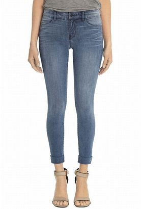 J Brand Anja Mid-Rise Slim Cropped Jean In Stockholm