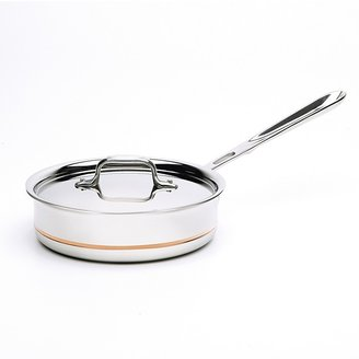 All-Clad Copper Core 2 Quart Covered Sauce Pan