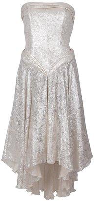 Byblos Vintage strapless dress