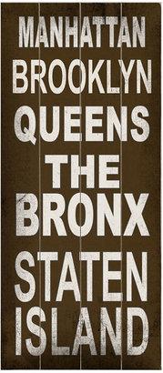 ArteHouse Wall Art, Manhattan Destination Sign