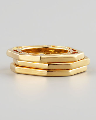 Tory Burch Audrina Stacking Rings, Set of Three