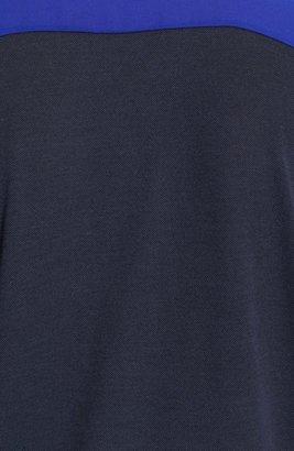 The Kooples SPORT Mixed Media Polo Shirt
