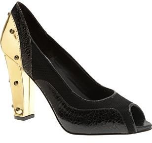 Proenza Schouler Peep Toe Pump- Dark Brown