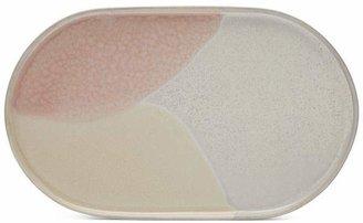 HK Living Gallery Ceramics Oval Side Plate