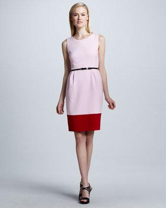Kate Spade Tiff Colorblock Belted Dress