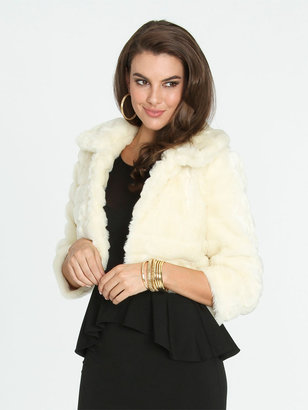 Arden B Cropped Fur Jacket