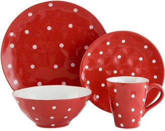 Maxwell & Williams Maxwell & WilliamsTM Sprinkle Collection Dinnerware in Red