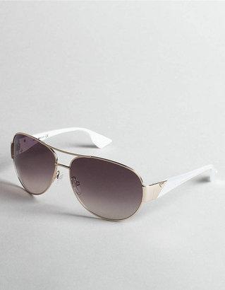 Emporio Armani Metal Aviator Sunglasses