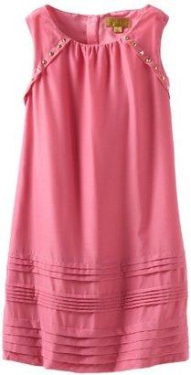 Nicole Miller Girls 7-16 Stud Embellishment Dress