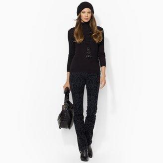 Lauren Ralph Lauren Ralph Textured Straight Jean