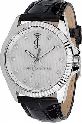 Juicy Couture Women's 1900931 Stella Croc Embossed Leather Strap Watch $115 thestylecure.com
