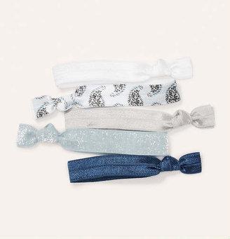 LOFT Blue Hair Tie Set