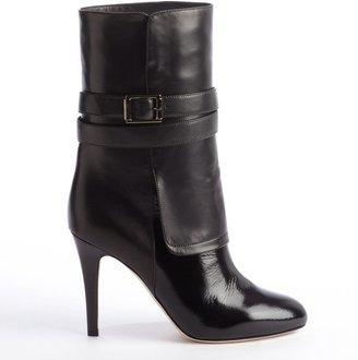 Jimmy Choo black leather 'Ballad' boots