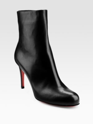 Christian Louboutin Simple 85 Leather Ankle Boots