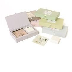 Anthropologie Personalized Pair Soap & Dish Set