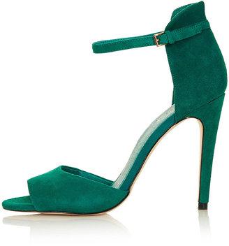 Topshop REBEL Clean 2 Part Sandals